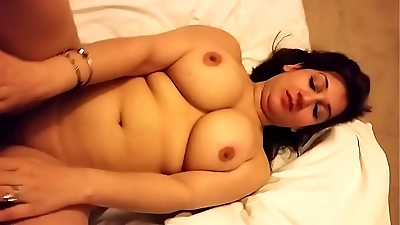 Super Hot n Sexy Desi Wife Boob Press & Pussy